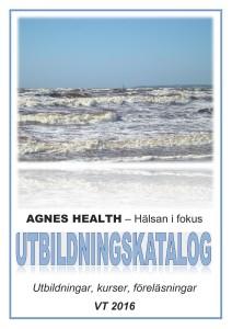 AGNES HEALTH - UTBILDNINGSKATALOG VT2016