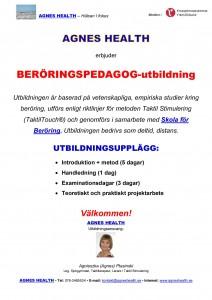 BERÖRINGSPEDAGOG -info