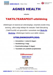 TAKTILTERAPEUT -info